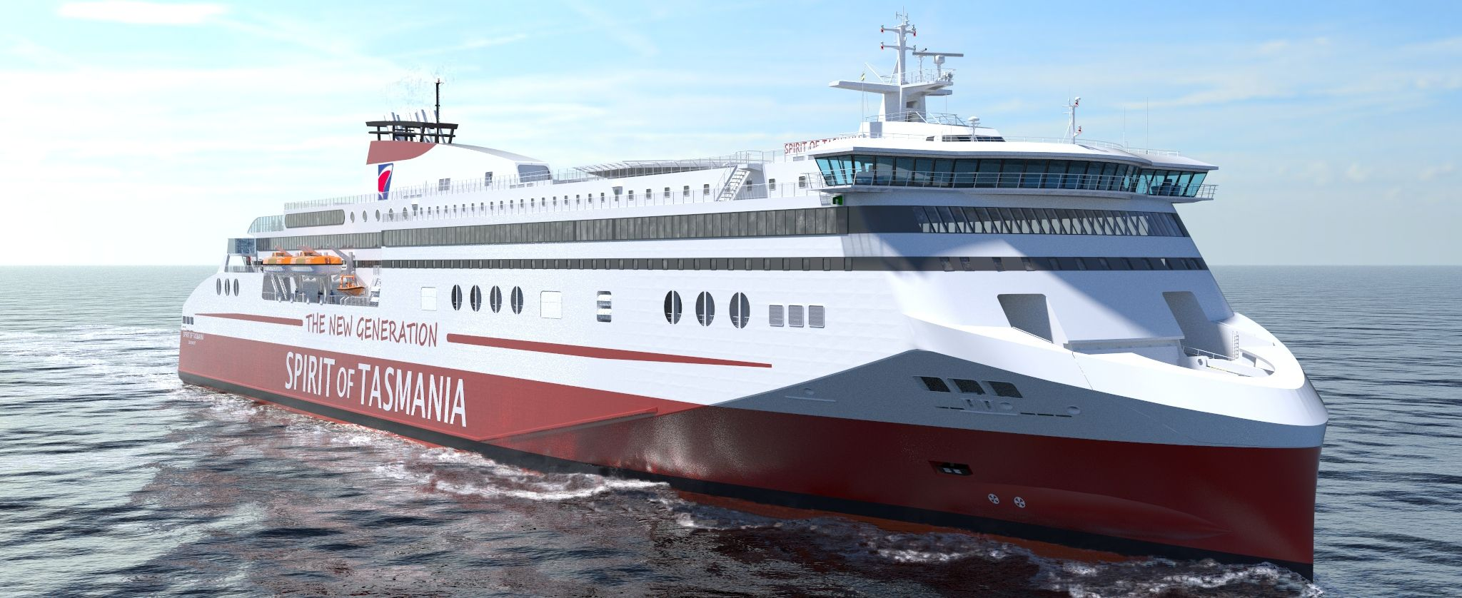 LNG RoPax Ferry