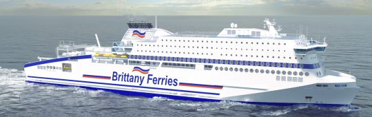 Brittany Ferries order LNG Ferry at FSG