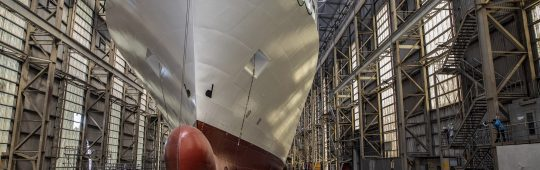 FSG´s seventh RoRo new building for SIEM