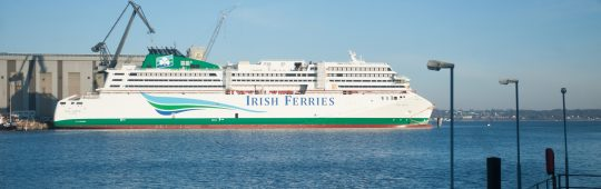 "FSG New Build ""W.B. Yeats"": Entry into service is scheduled for September 2018"