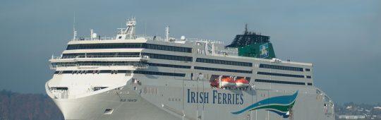 """FSG erhält eine weitere angesehene Auszeichnung für das RoPax Schiff """"W. B. Yeats"""""""