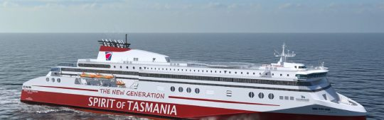 TT-Line Company Pty Ltd and FSG sign contract for two LNG passenger ferries